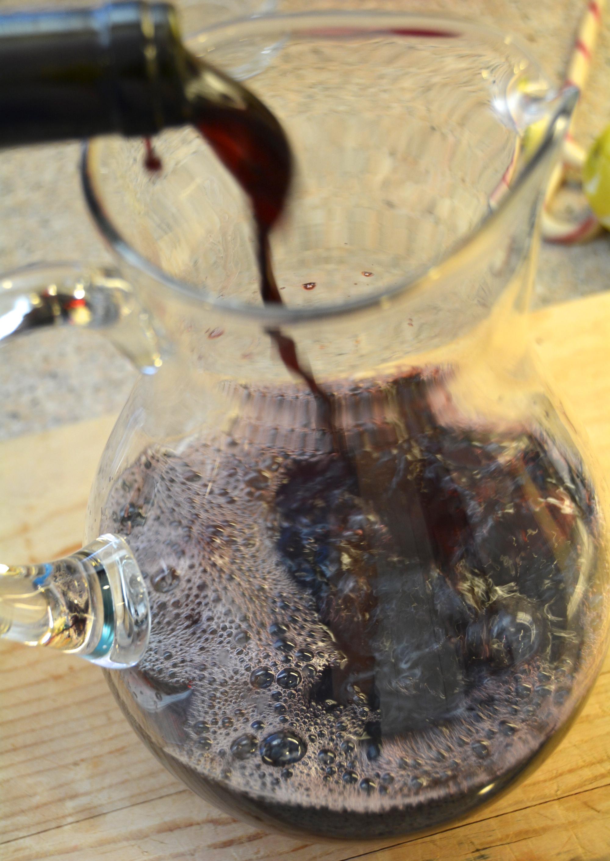 Wine Brandy Apple Juice