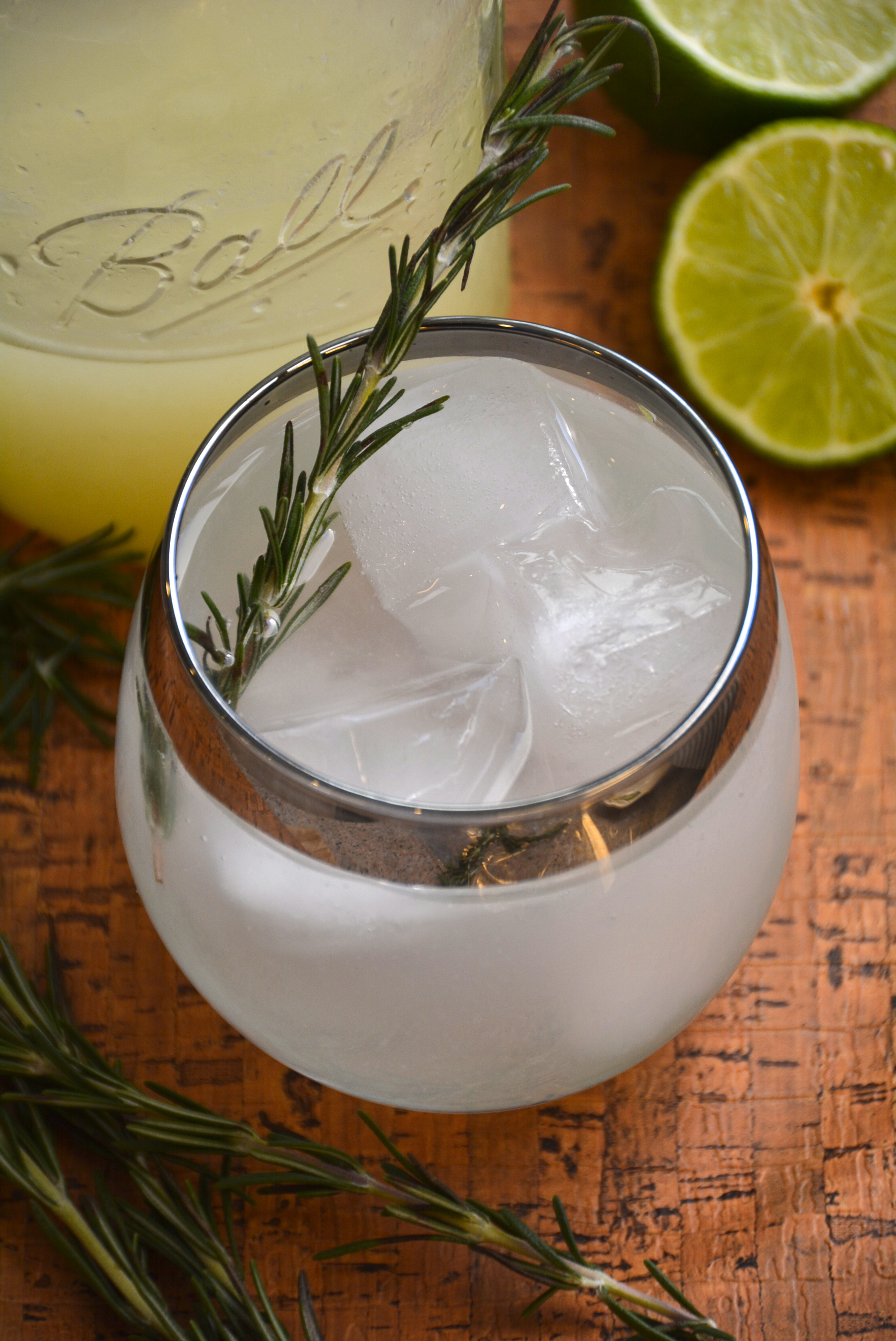 Skinny Gin Lime Rosemary