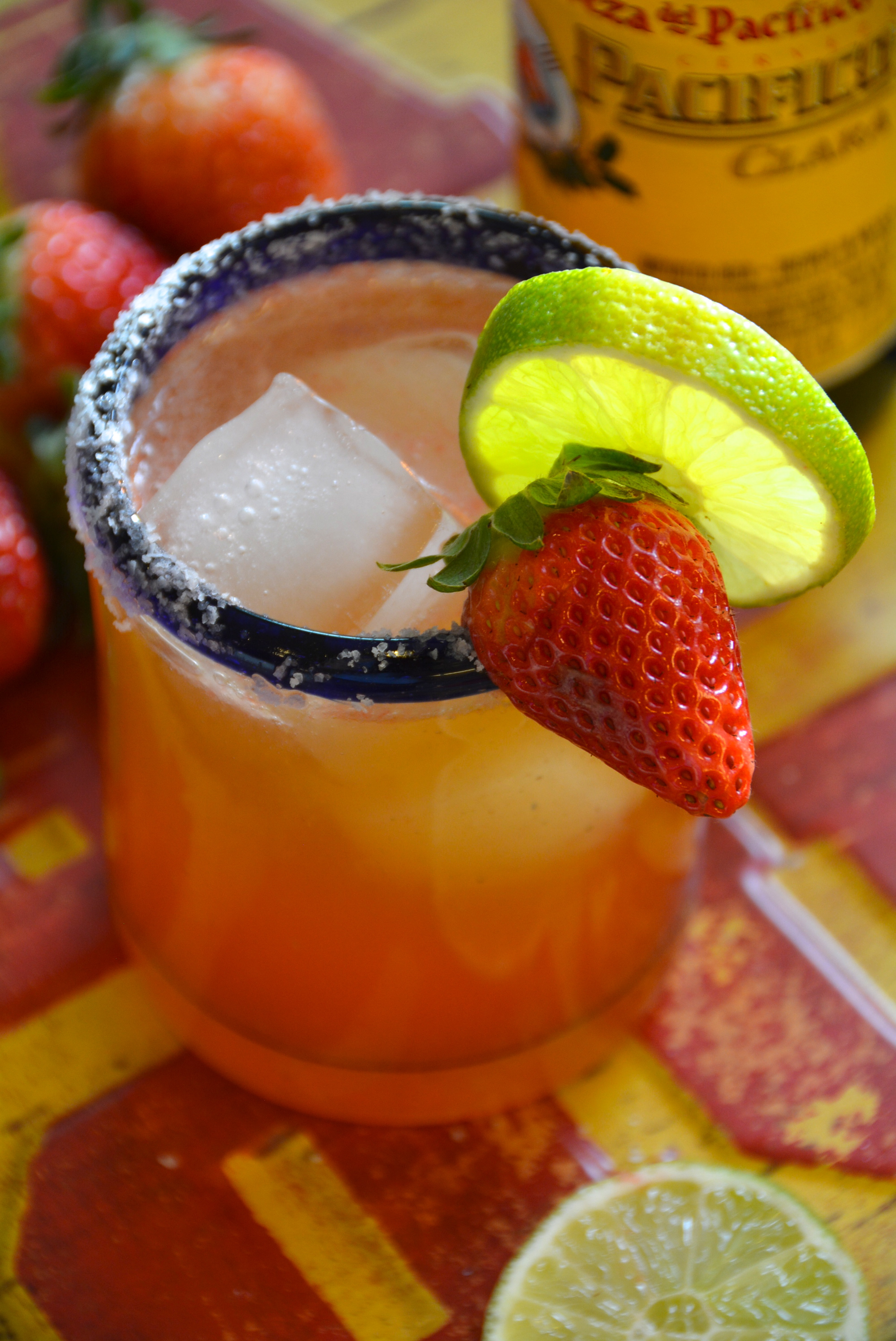Strawberry Beer Margarita 2