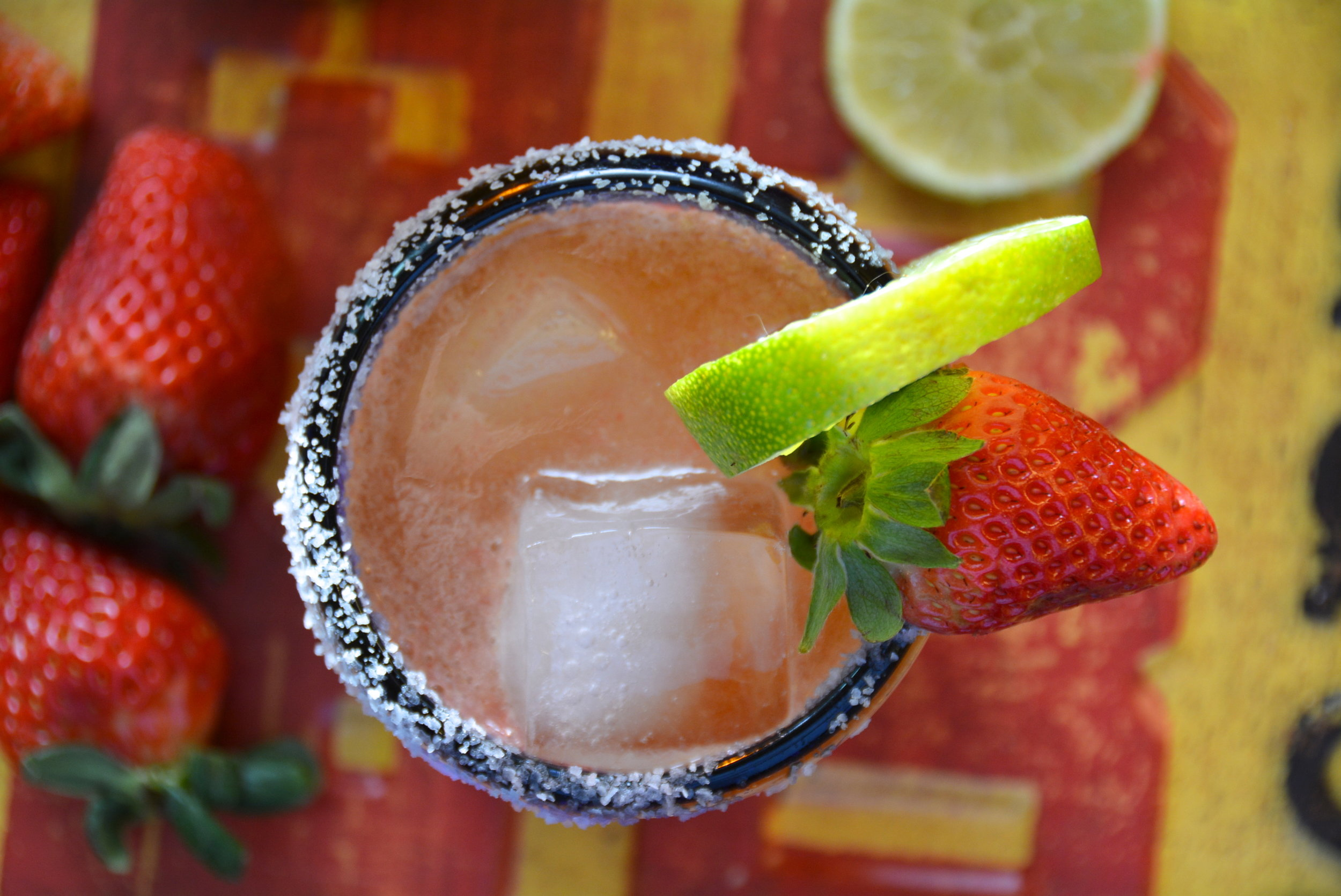 Strawberry Beer Margarita