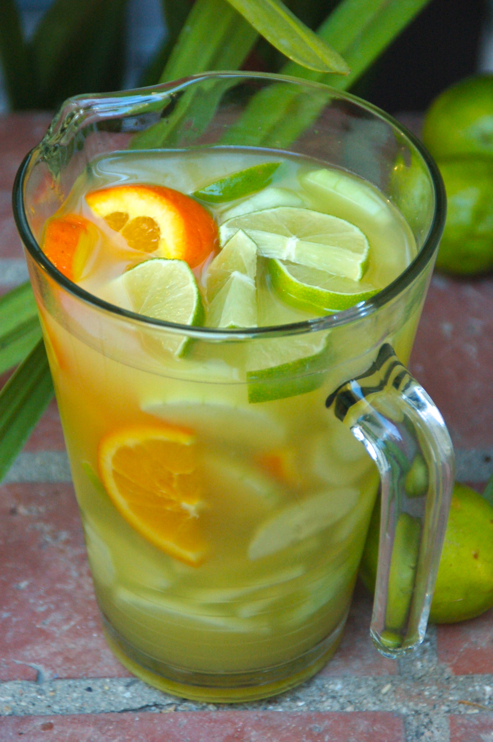 Cucumber lime orange