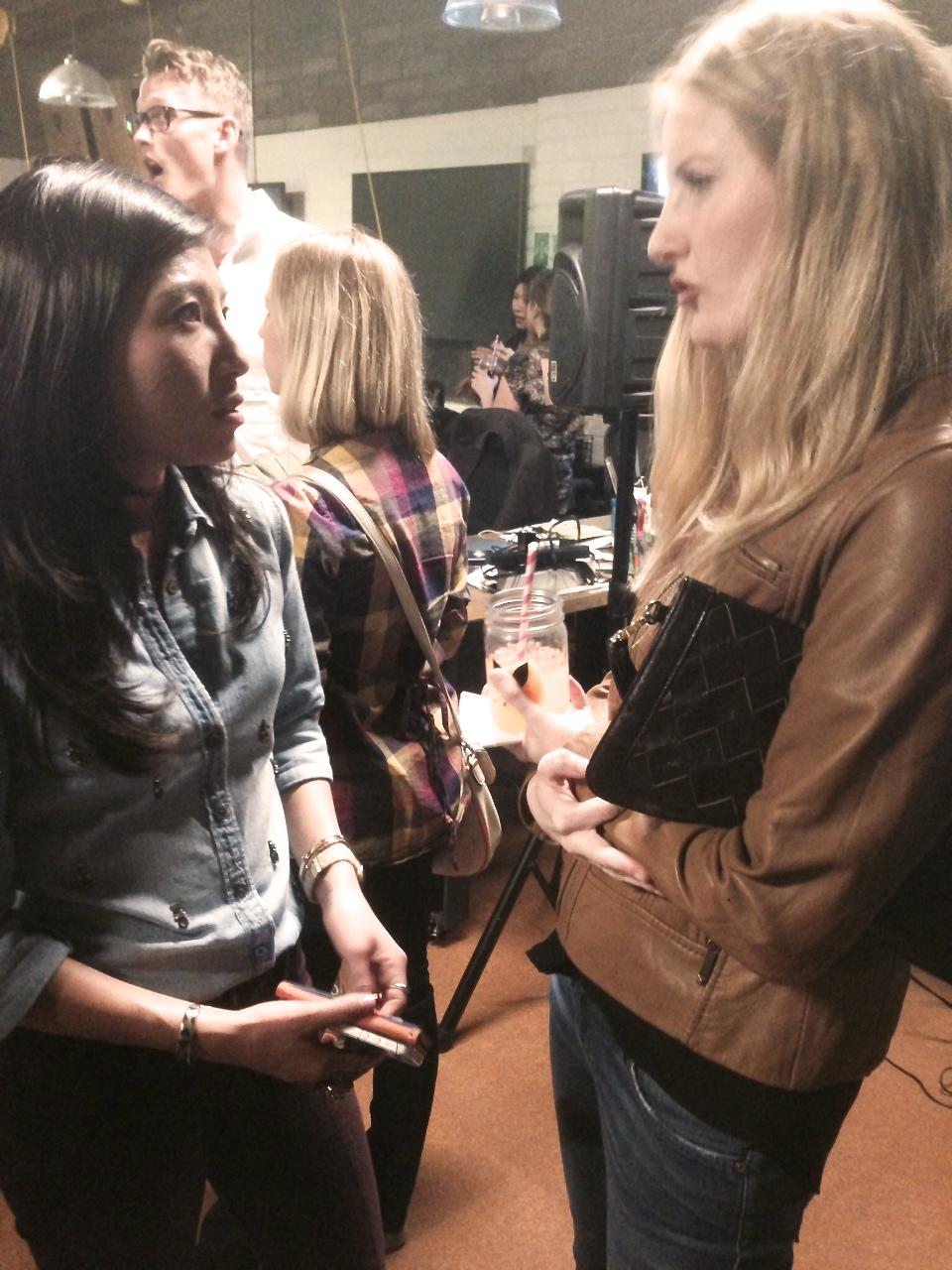 Jocelyn and Sae Talking Shop!