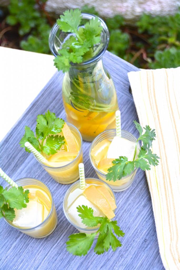 Tequila Cilantro Lemonade Cocktail_ 3
