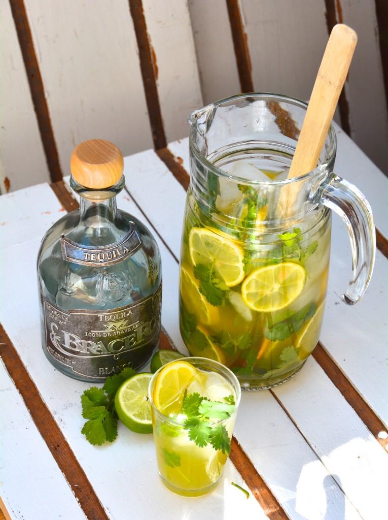 Tequila Cilantro Lemonade Cocktail_1