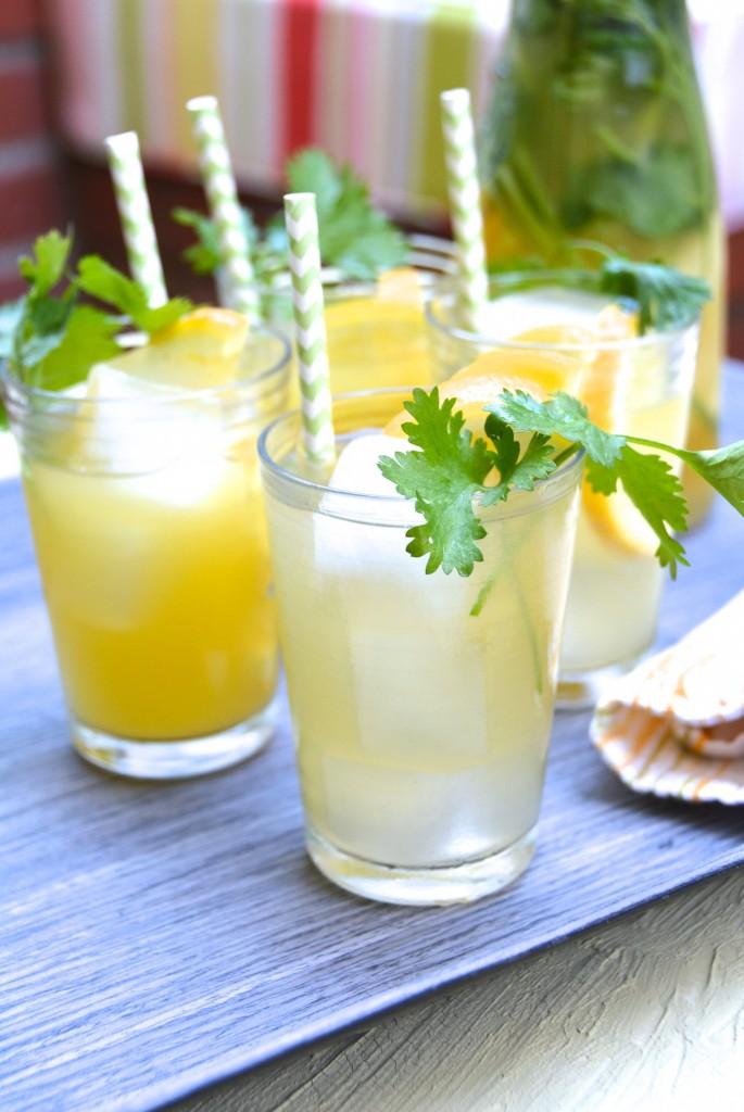 Tequila Cilantro Lemonade Cocktail_2