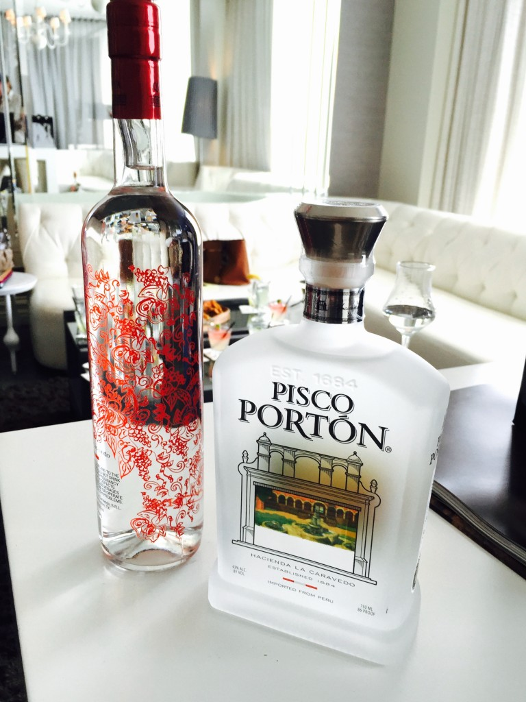 Pisco Bottle