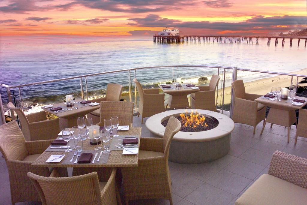 Malibu Beach Inn Sunset