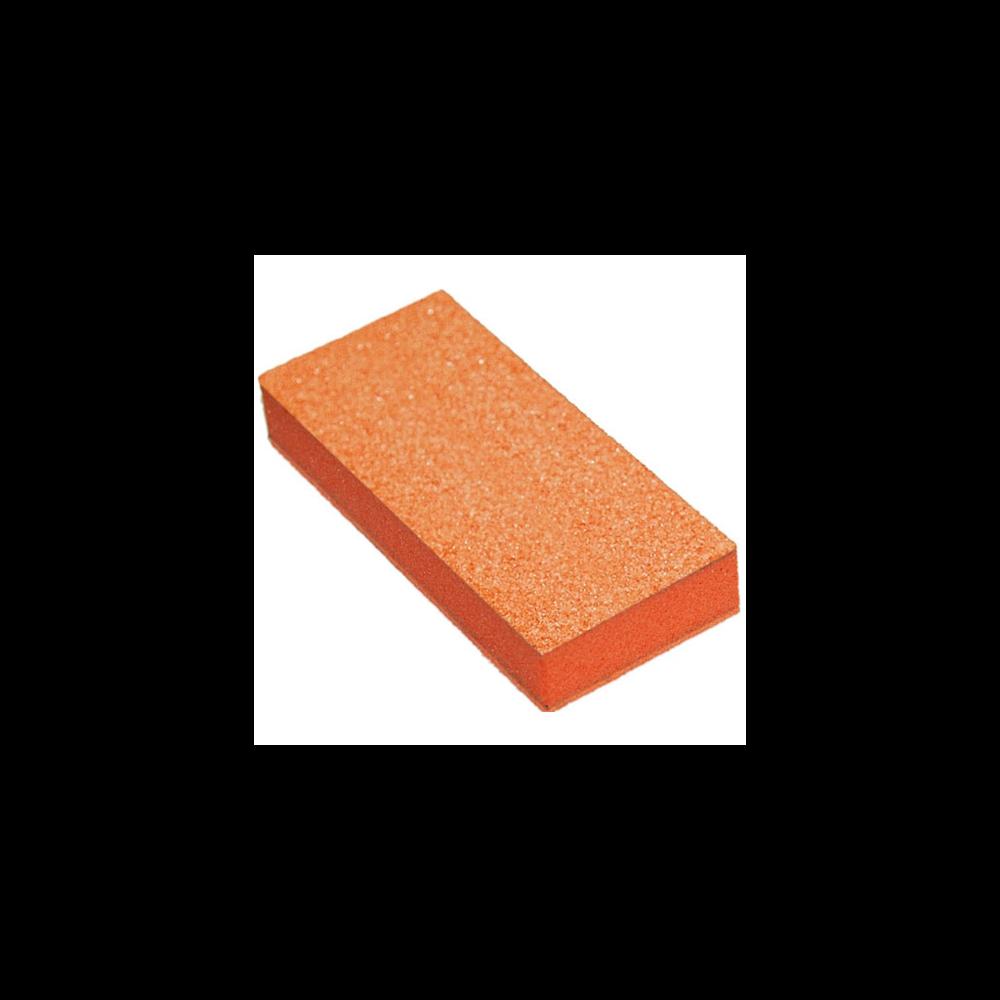 06075 - Orange Foam - White Grit 80/100