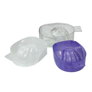10226 - Transparent Color Manicure Bowl  100 pcs/case
