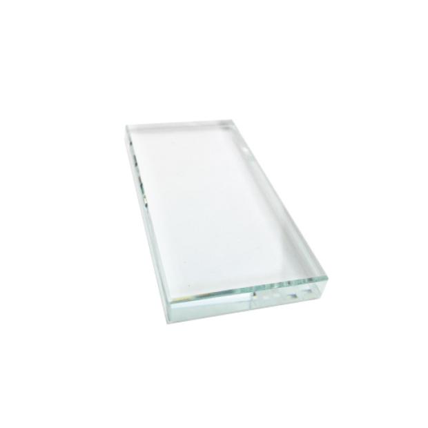 04580 - Hami Retangular Crystal Glue Palette  400 pcs/case