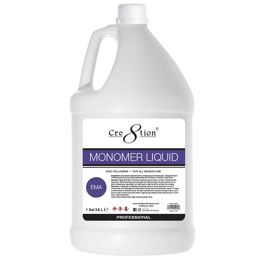 01449 - Monomer #Liquid EMA 1 gal#4 pcs/case