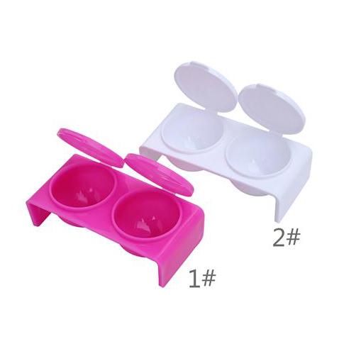 10362 - Plastic 2# Positions Dappen# Dish 500 pcs/case