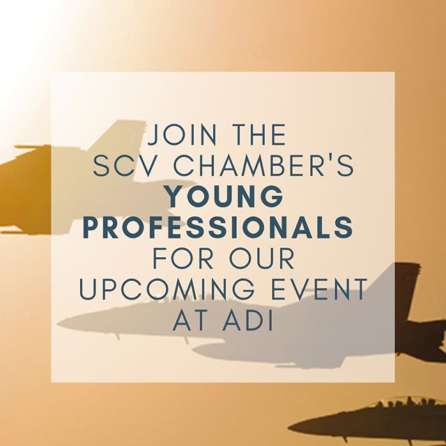 Grab your tickets to take part in a special behind-the-scenes tour of the aerospace industry with Aerospace Dynamics International. After the tour we'll be heading over to Pocock Brewery for happy hour conversation, bar games and great local beer. Link in bio for tickets! #scvchamber #youngprofessionals #santaclarita #aerospace