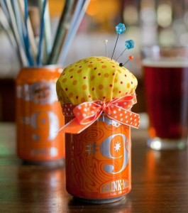 Magic Hat Pincushion www.beer-crafts.com