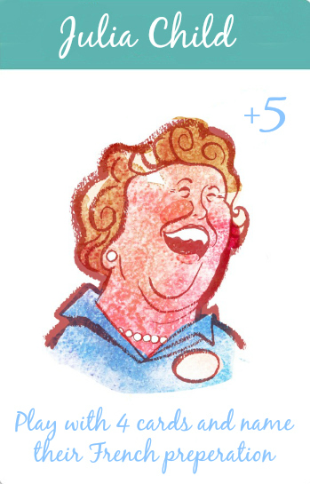 Julia Child Card