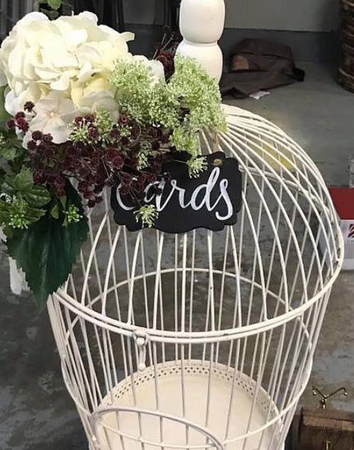 Large Bird Cage, $12