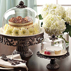 Large Cake Stand and Dome, $15