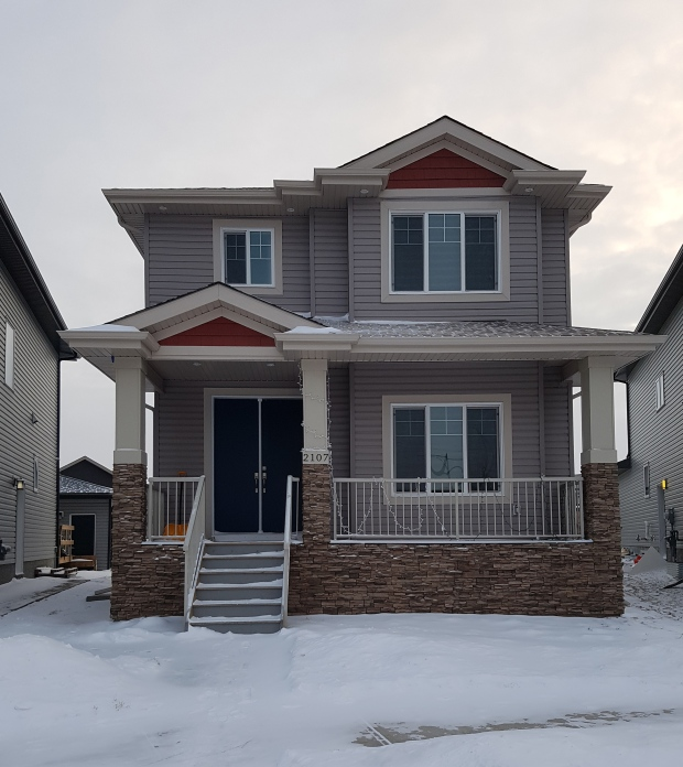 Jaspreet Noorpuri says his family's new 1,7010-square-foot home in southeast Edmonton has been plagued with problems. (Jaspreet Noorpuri)