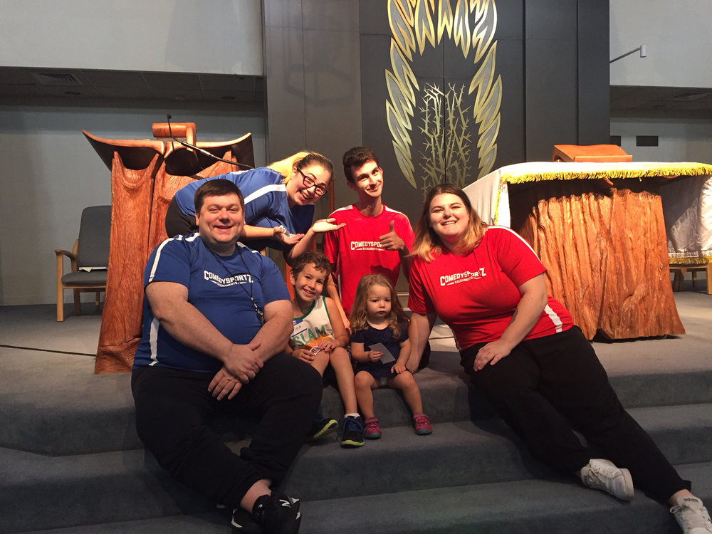 CSZ SACRAMENTO PROVIDES FAMILY FRIENDLY, ALL AGES IMPROV COMEDY SHOWS FOR CHURCHES, TEMPLES, AND OTHER FAITH BASED ORGANIZATIONS