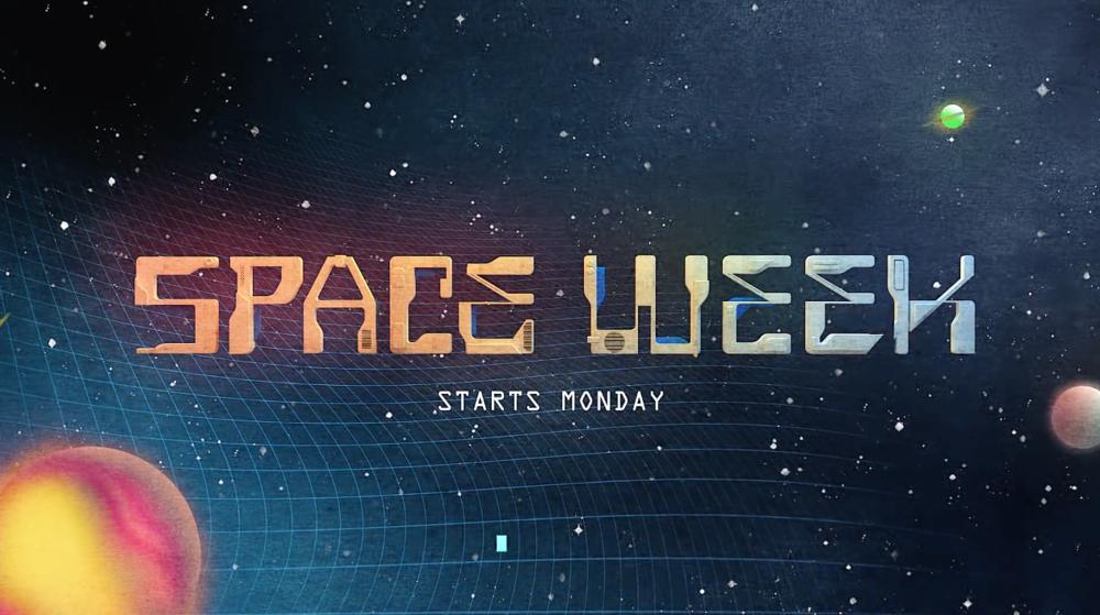 Sci-Fi: Space Week - network promo