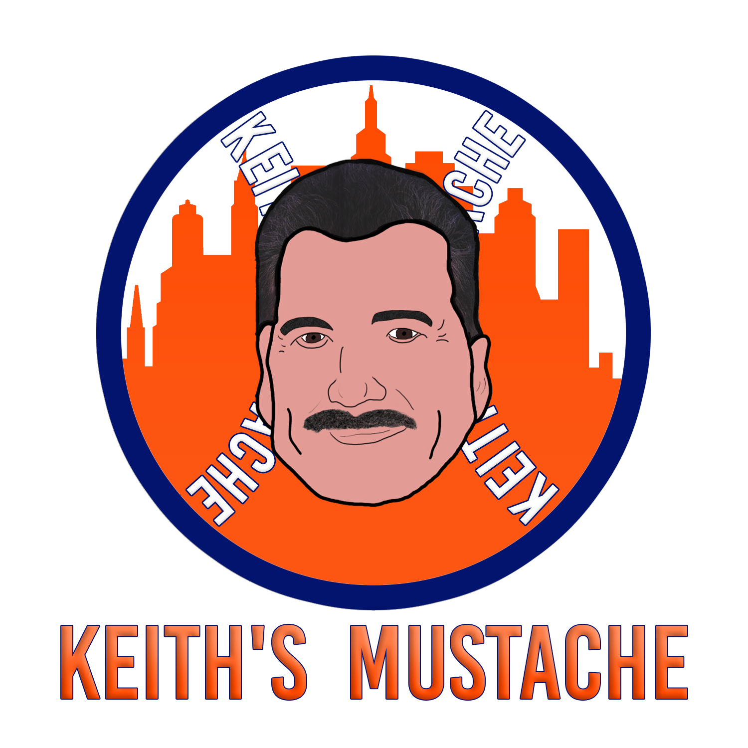 Keith's Mustache