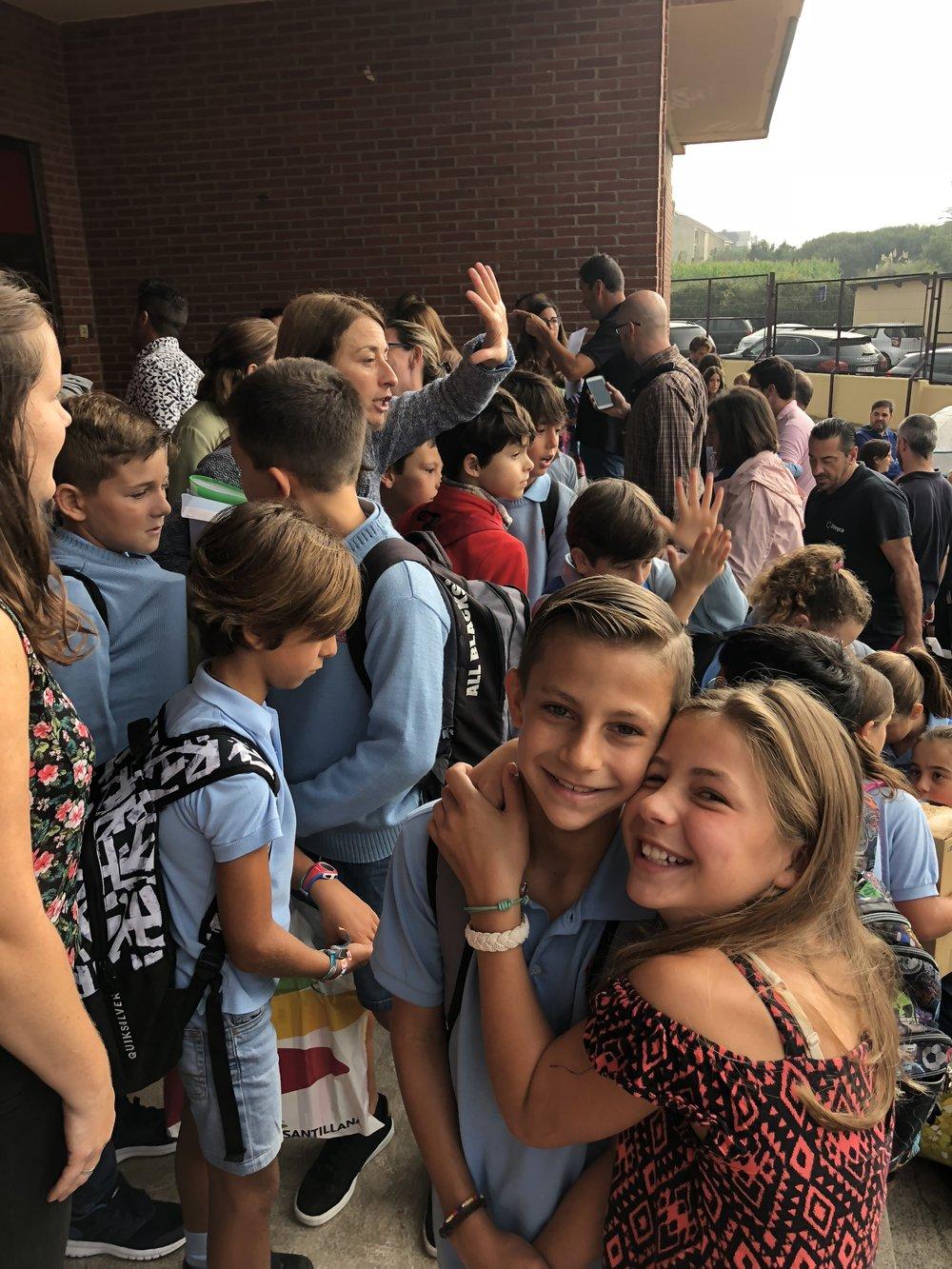 Colegio en España - Jardín de Africa