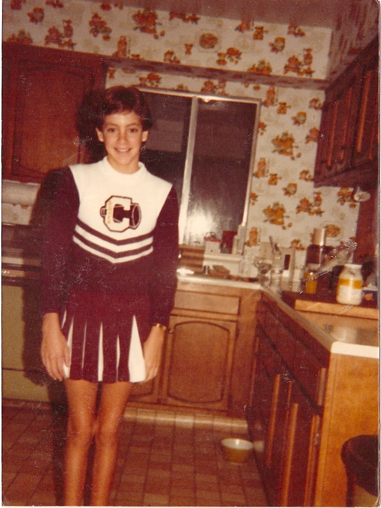 Cavitt Cowboys - My year as a cheerleader. I think this picture says it all.