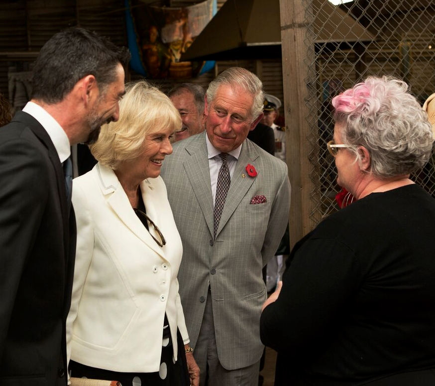 julie Fleming meets HRH The Duchess of Cornwall and HRH Prince Charles