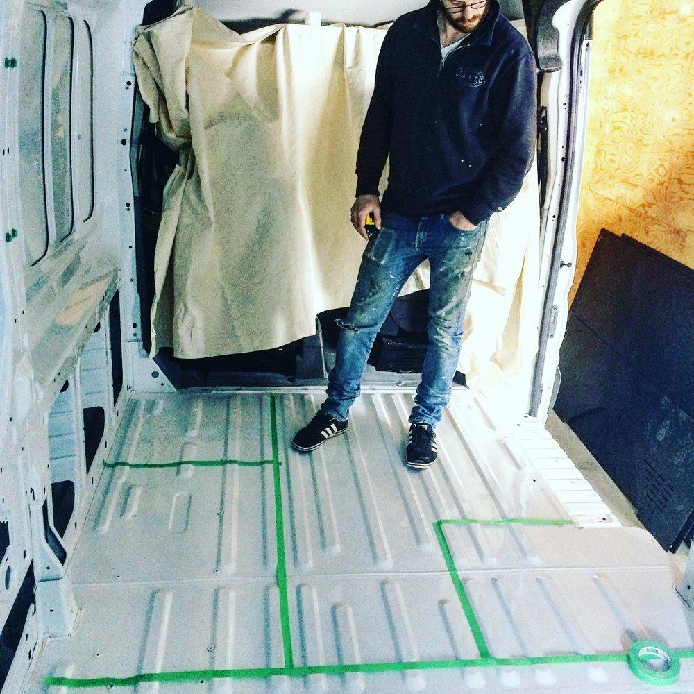 Choosing Our Van&Designing The Layout -