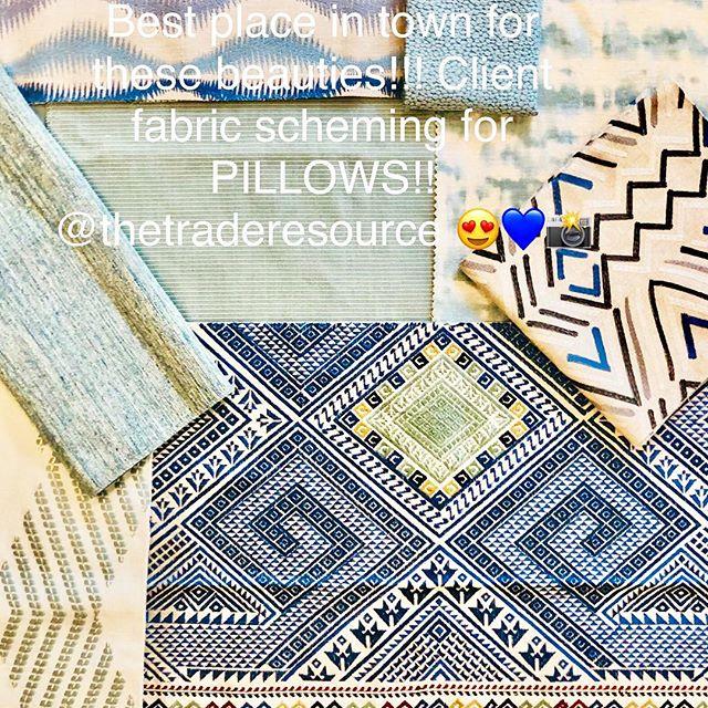 Loving these fabrics!!! Thanks @thetraderesource 💜 ..............#interiordesign #homedesign #fabric #interiordesigner #momboss #pillows #carmelindiana #zionsville