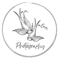 Van Valen Photography two birds logo