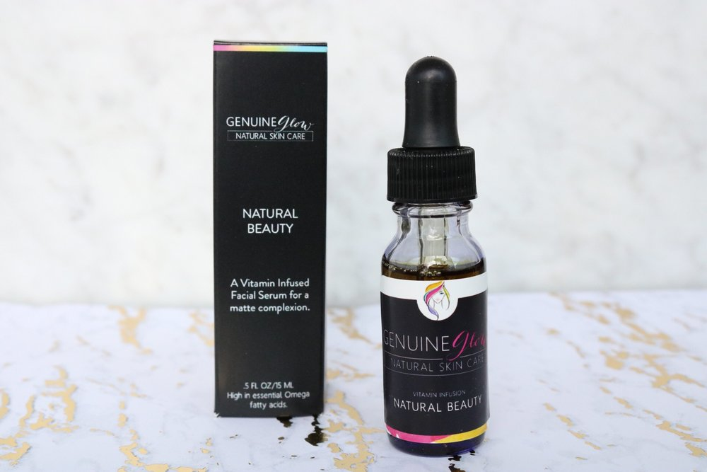Natural Beauty controls oil production and gives you a smooth, even complexion. This serum will improve redness, acne, itchiness, dry patches, blotchy skin, and inflammation.