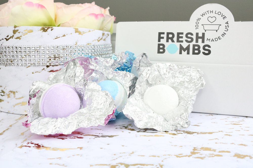 Thanks to Fresh Bombs for providing me these awesome fresh made bath bombs!  Get them here