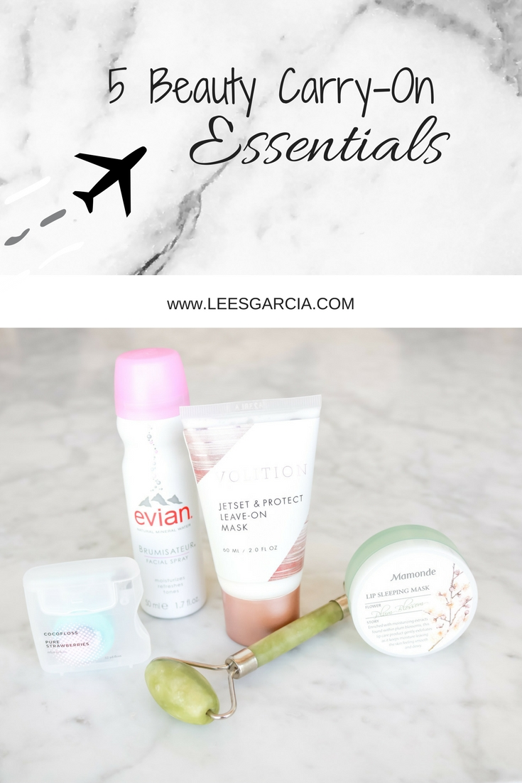 5 Beauty Carry-On Essentials