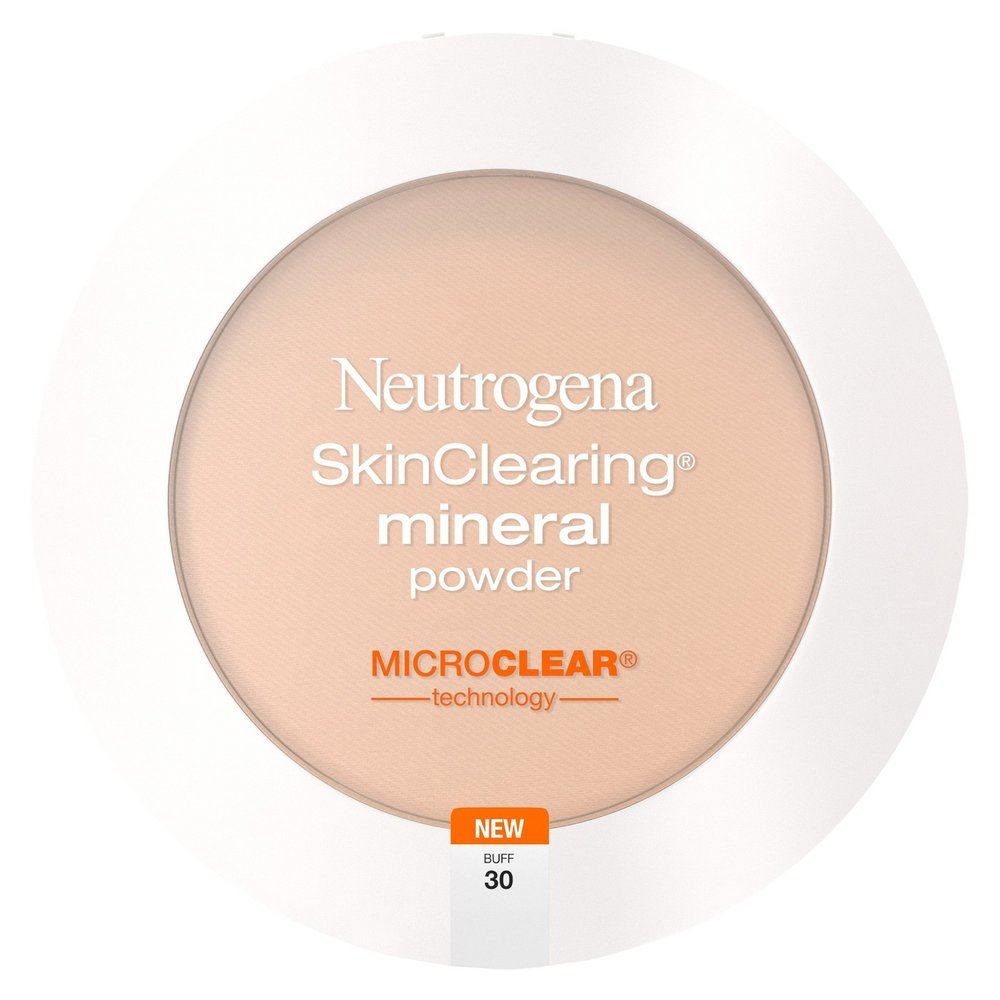 - Neutrogena SkinClearing® Mineral Powder - Absorbs oils and unclogs pores; matte finish, breathable coverage | treats + helps prevent breakouts | won't clog pores