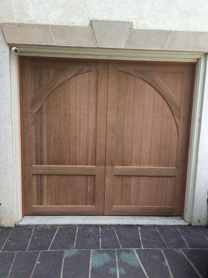Carriage Doors Stain Grade Gallery All Bay Garage Doors