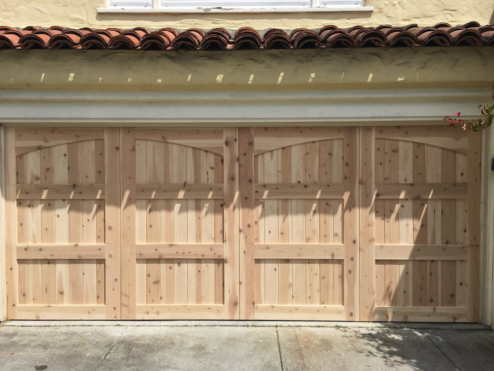 Stain Grade Carriage House - Red Western Cedar