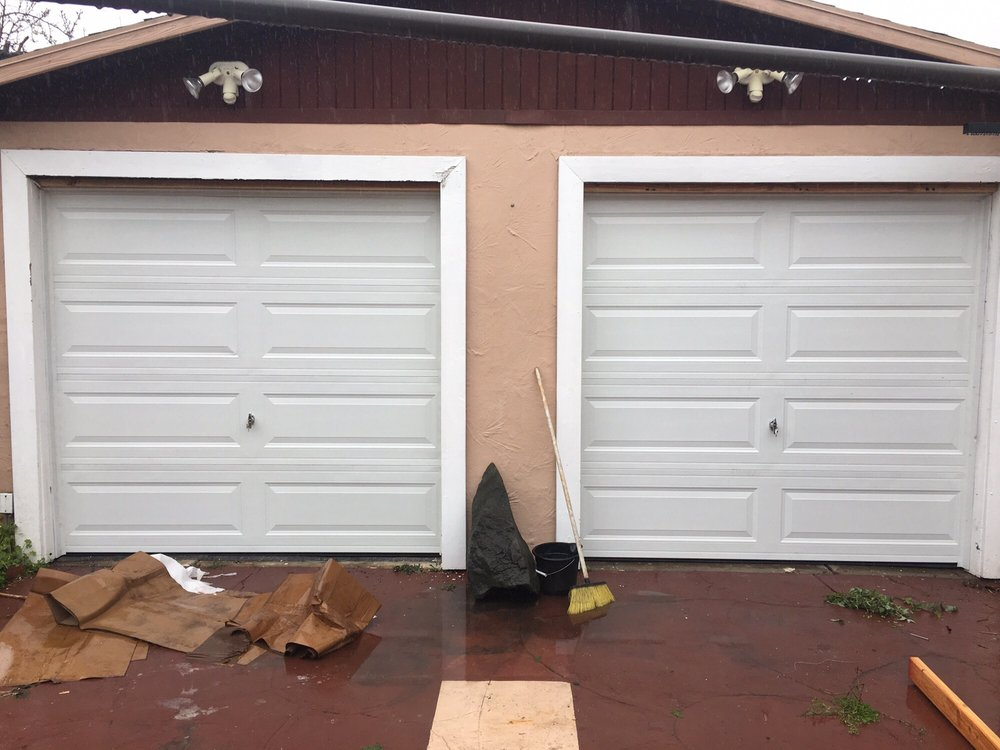 Long Panel Steel Doors All Bay Garage Doors