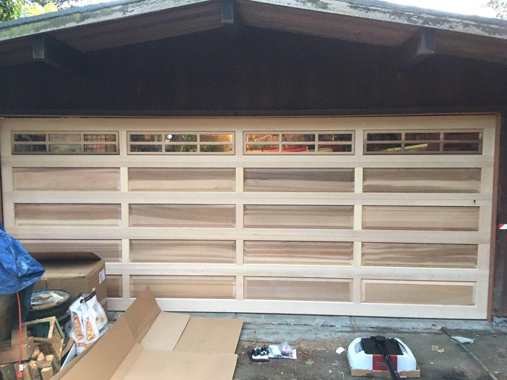 Solid Wood Doors All Bay Garage Doors