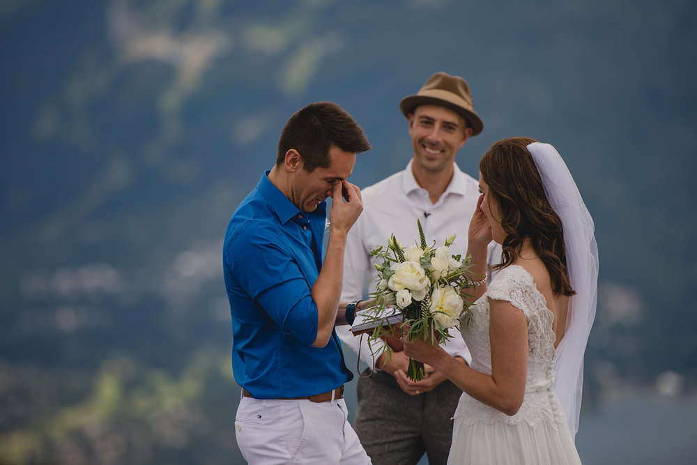 Whistler wedding officiant