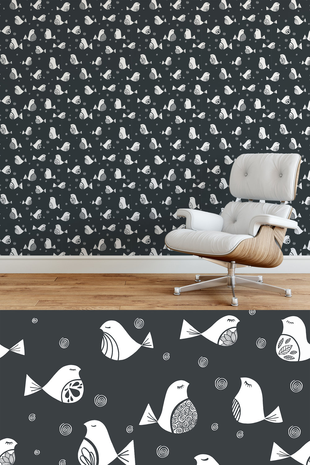 Sorayda Ceballos Lopez  - Fancy Birds Pattern