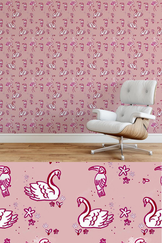 Missy Boucher  - Flamingo, Swan, Tucan