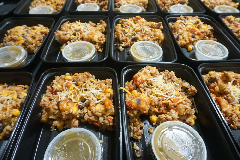 Southwestern Rice Casserole  This southwestern turkey rice casserole is a fantastic mix of of spices, vegetables and lean protein for a healthy lunch or dinner.