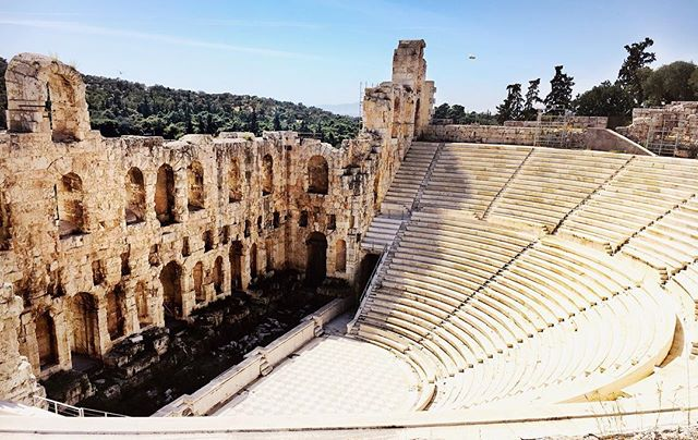 Coliseum at the Acropolis🇬🇷Athens, Greece #greece #athens #ruins #coliseum #worldwonders #greekislands #tasteintravel #beautifuldestinations #jetsetter #darlingescapes #photography #takemeback #girlswhotravel #europeantravels #femmetravel #passionpassport #traveltheworld #theeverygirl #beautifulplace #discovering #natgeotravels #beautifulplaces #visitgreece #landscape #clouds #visitathens #santorini #topgreecephoto