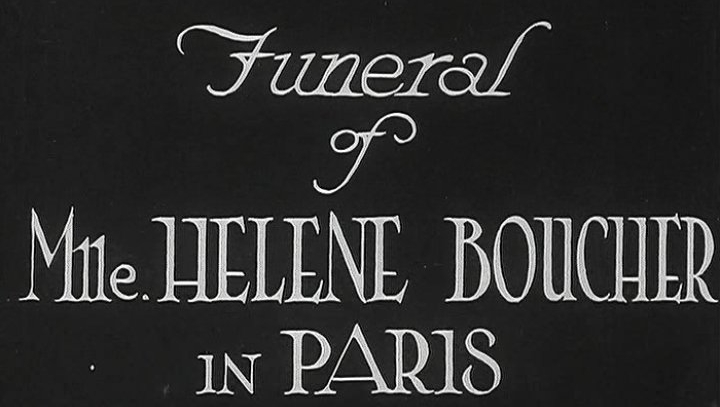 Original funeral footage available via Britishe Pathe -- click through here