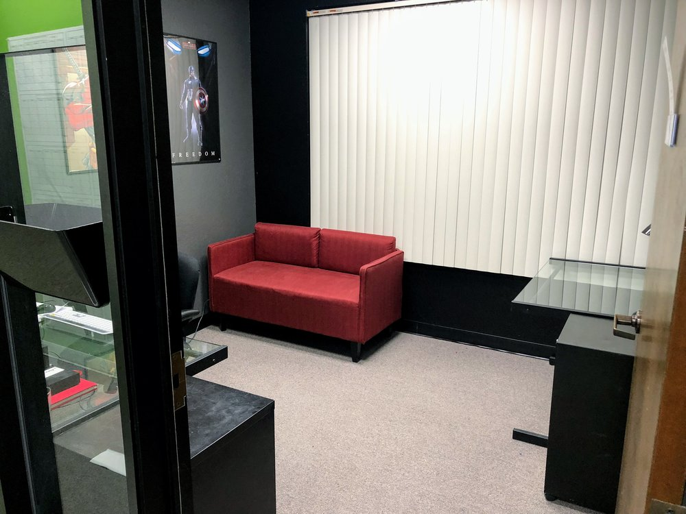 Private Office - $150/day $450/wk $899/month/12- Private secure office - Desk and chair provided- Membership benefits