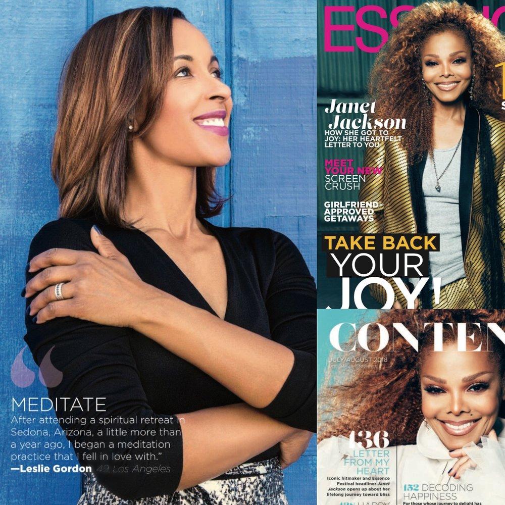 Leslie Gordon talks Happy Talk in Essence Magazine
