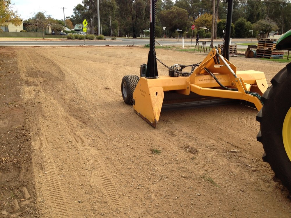 Heavy Duty Turf Grader -