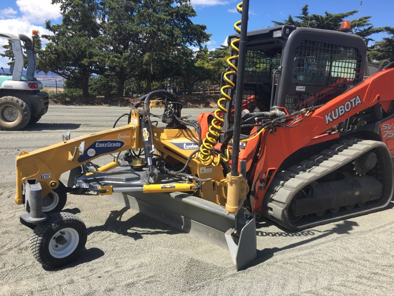 Lawless Lasers EasyGrade R-Series Skid Steer Road Grader