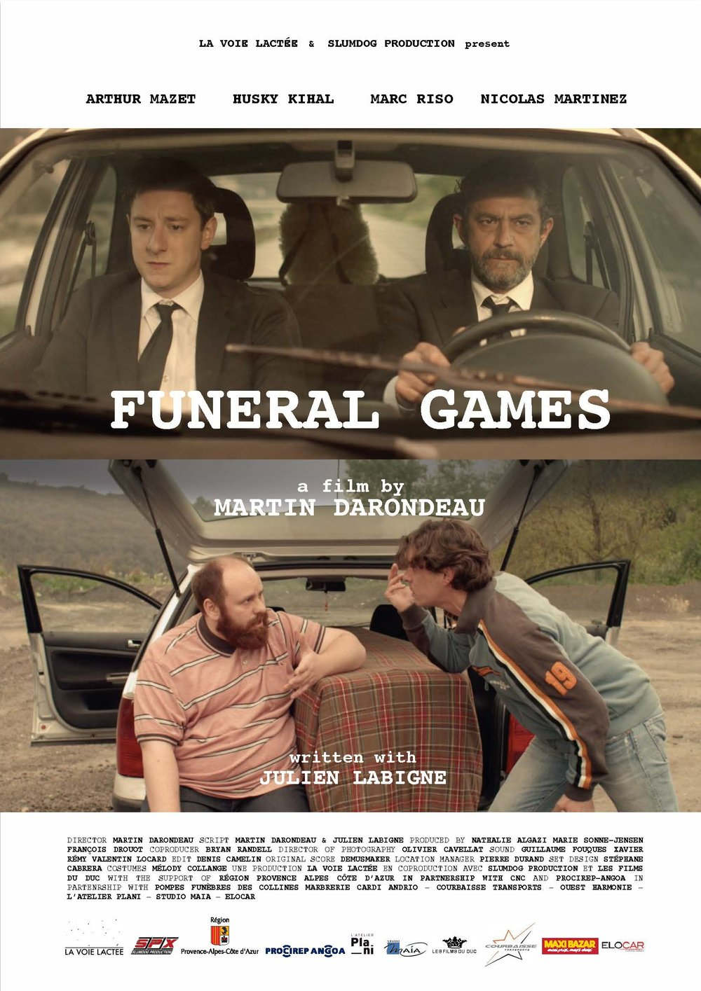 Funeral Games - Martin Darondeau